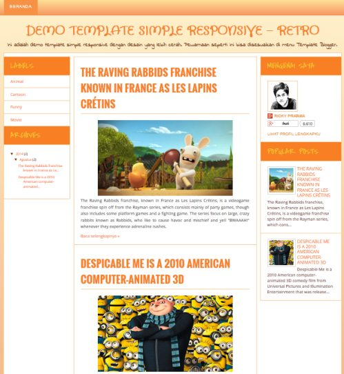 7 Template Blog SEO Friendly Responsive Design untuk Blogspot ...