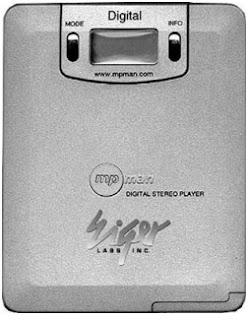 Primer reproductor de formato MP3
