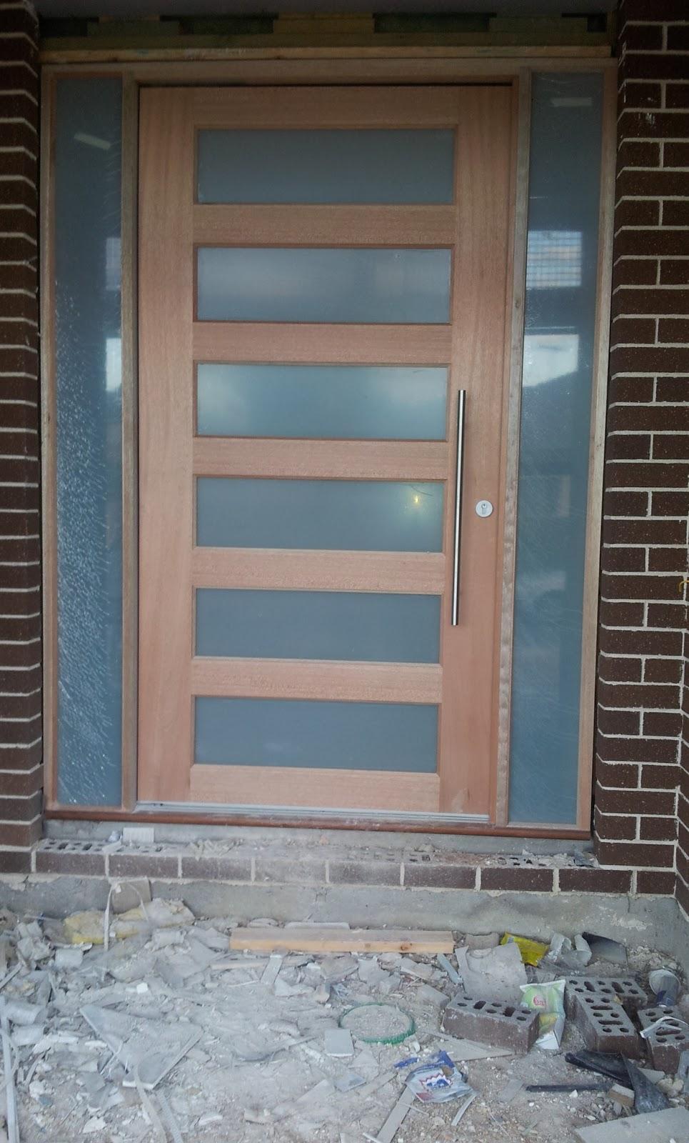 My Journey To Metricon Nolan 45 Week 21 Entry Door
