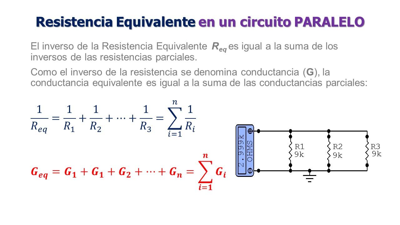Circuito Paralelo : Electricidad resistencias en paralelo dc