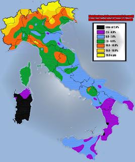 tratti somatici italiani