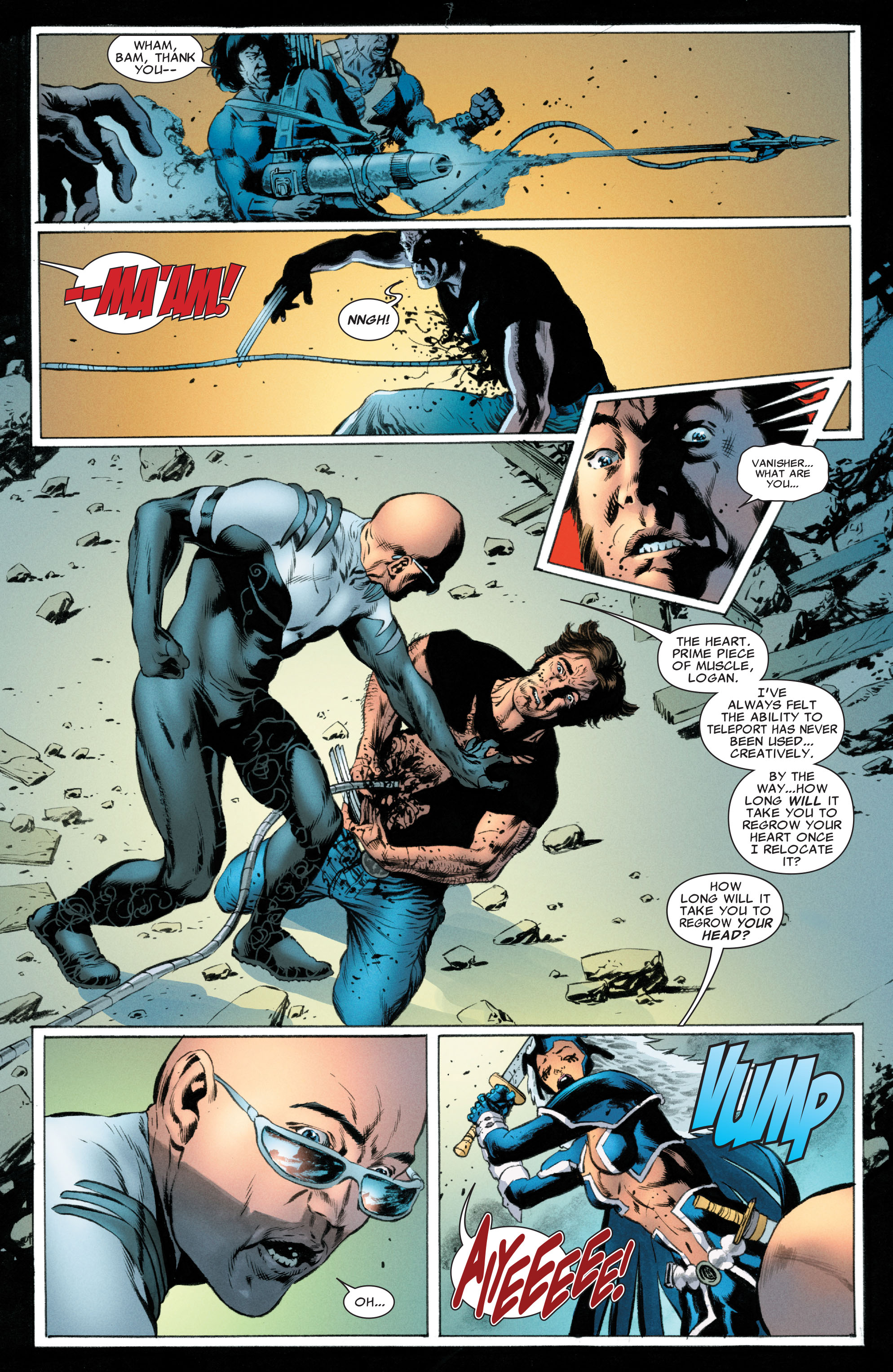 Read online Astonishing X-Men (2004) comic -  Issue #49 - 8