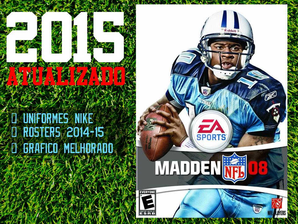 Atualização 2015 para Madden NFL 08 PC | Felipe Louback