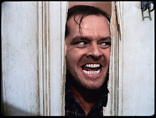 The Shining, directed by Stanley Kubrick (GB/United States; 1978-80). Jack Nicholson as Jack Torrance. © Warner Bros. Entertainment Inc.