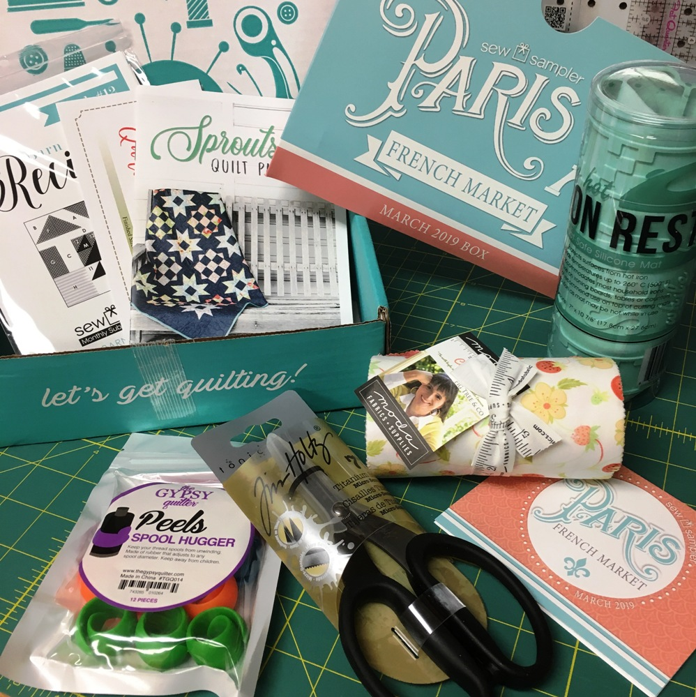 Happy Quilting March Sew Sampler Box