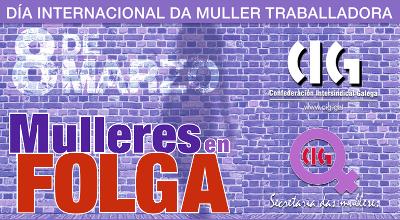 8 de marzo de 2019: Mulleres en Folga