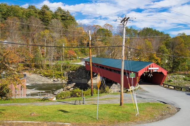 Covered bridge road-Taftsville