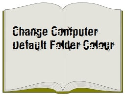 Change Desktop Folder Colour