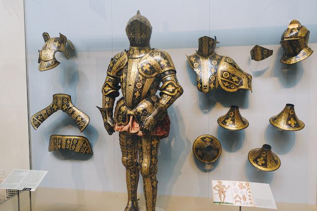 カンバーランド3世伯爵、ジョージ・クリフォードの甲冑(Armor Garniture of George Clifford, Third Earl of Cumberland