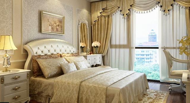 Nội thất phòng ngủ The Emerald phong cách tân cổ điển