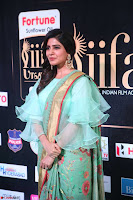 Samantha Ruth Prabhu Smiling Beauty in strange Designer Saree at IIFA Utsavam Awards 2017  Day 2  Exclusive 48.JPG