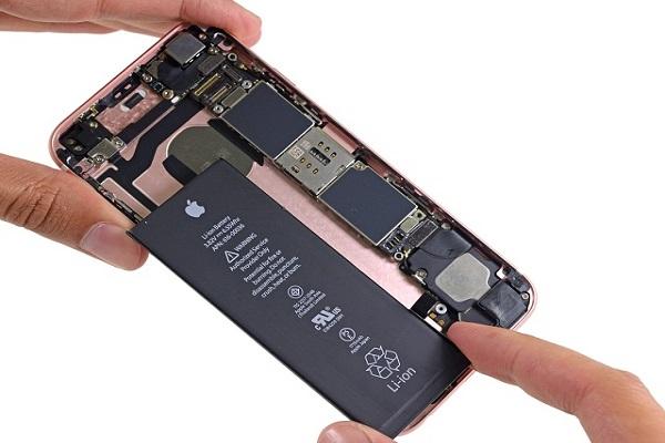 quy trình thay pin iphone 6s plus