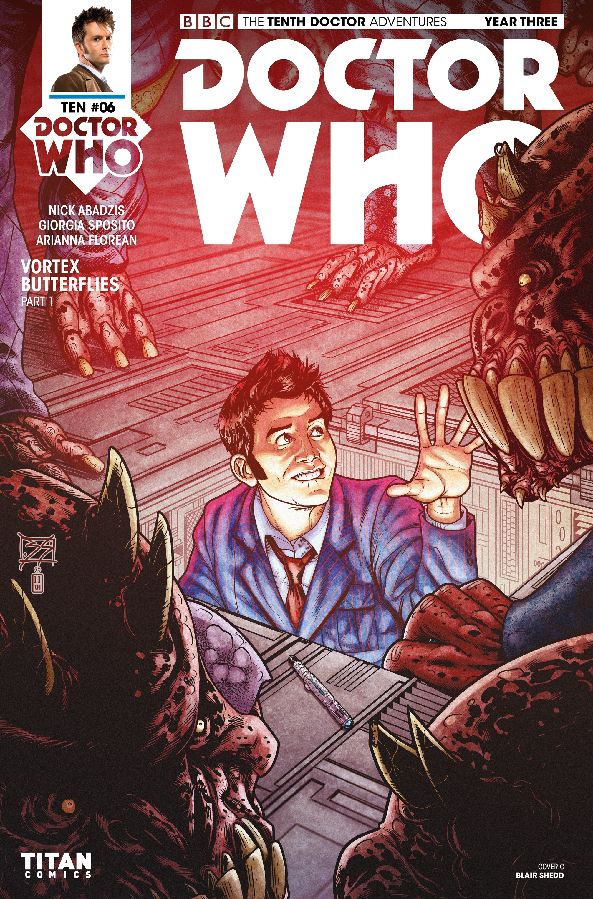 Read online Doctor Who: The Tenth Doctor Year Three comic -  Issue #6 - 3