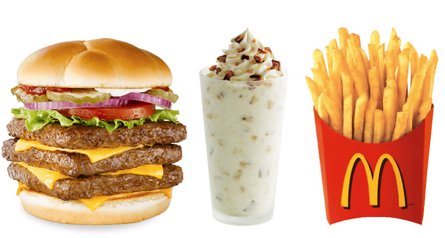 Fast Food Item With Most Calories