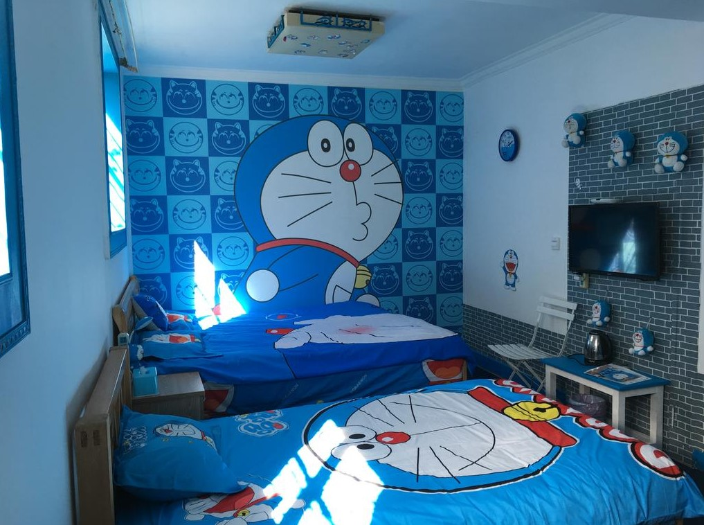 Ruang Belajar Siswa Kelas 10 Desain Kamar Doraemon