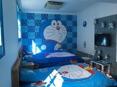 desain kamar tidur doraemon terbaru