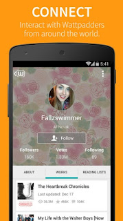 Wattpad App For Android connect with people