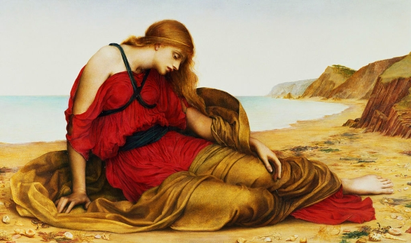 Ariadna a Naxos (Evelyn De Morgan)
