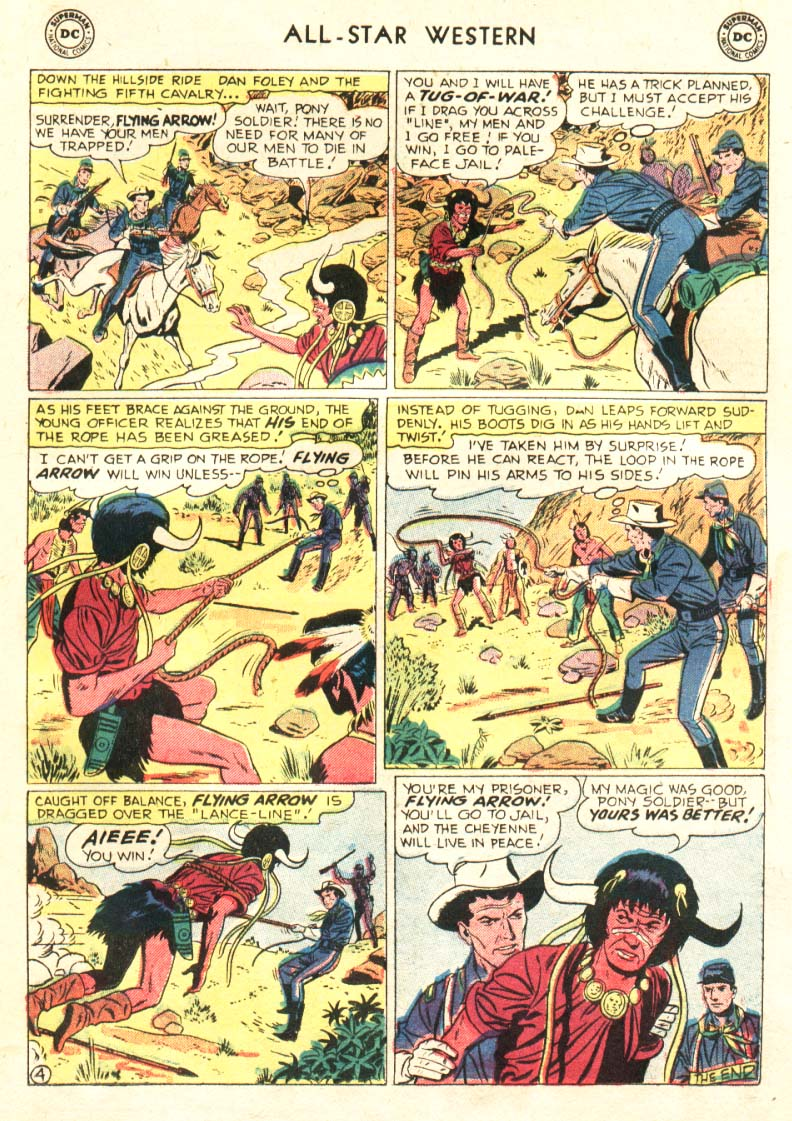 Read online All-Star Western (1951) comic -  Issue #91 - 17