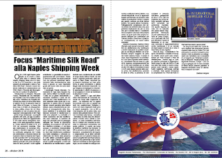 "OTTOBRE 2018 PAG.20 - Focus ""Maritime Silk Road"" alla Naples Shipping Week"