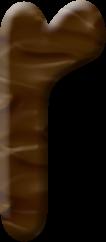 Alfabeto de Crumbelina DiCaramello de Ralph el Demoledor.