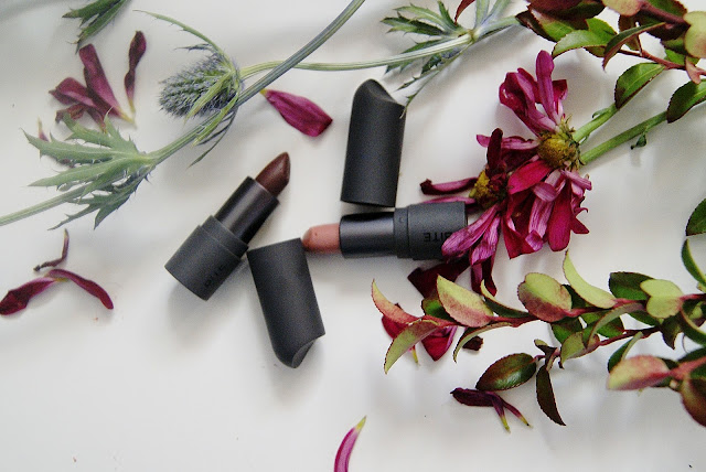 Bite Beauty Amuse Bouche lipstick in Honeycomb and Whiskey, The Lip Pencil, 020, 044, makeup, review, influenster, sephora, lips, the purple scarf, melanieps, toronto, ontario, canada