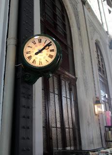 Reloj Museo del Ferrocarril de Madrid