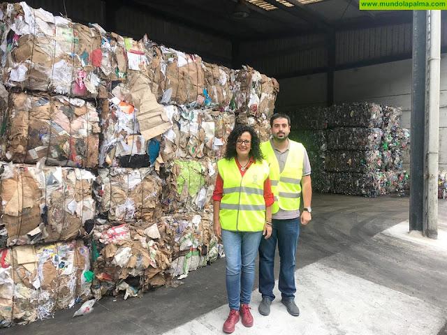 El Cabildo insta a la población a separar los residuos por los beneficios ambientales, sociales y económicos que aporta