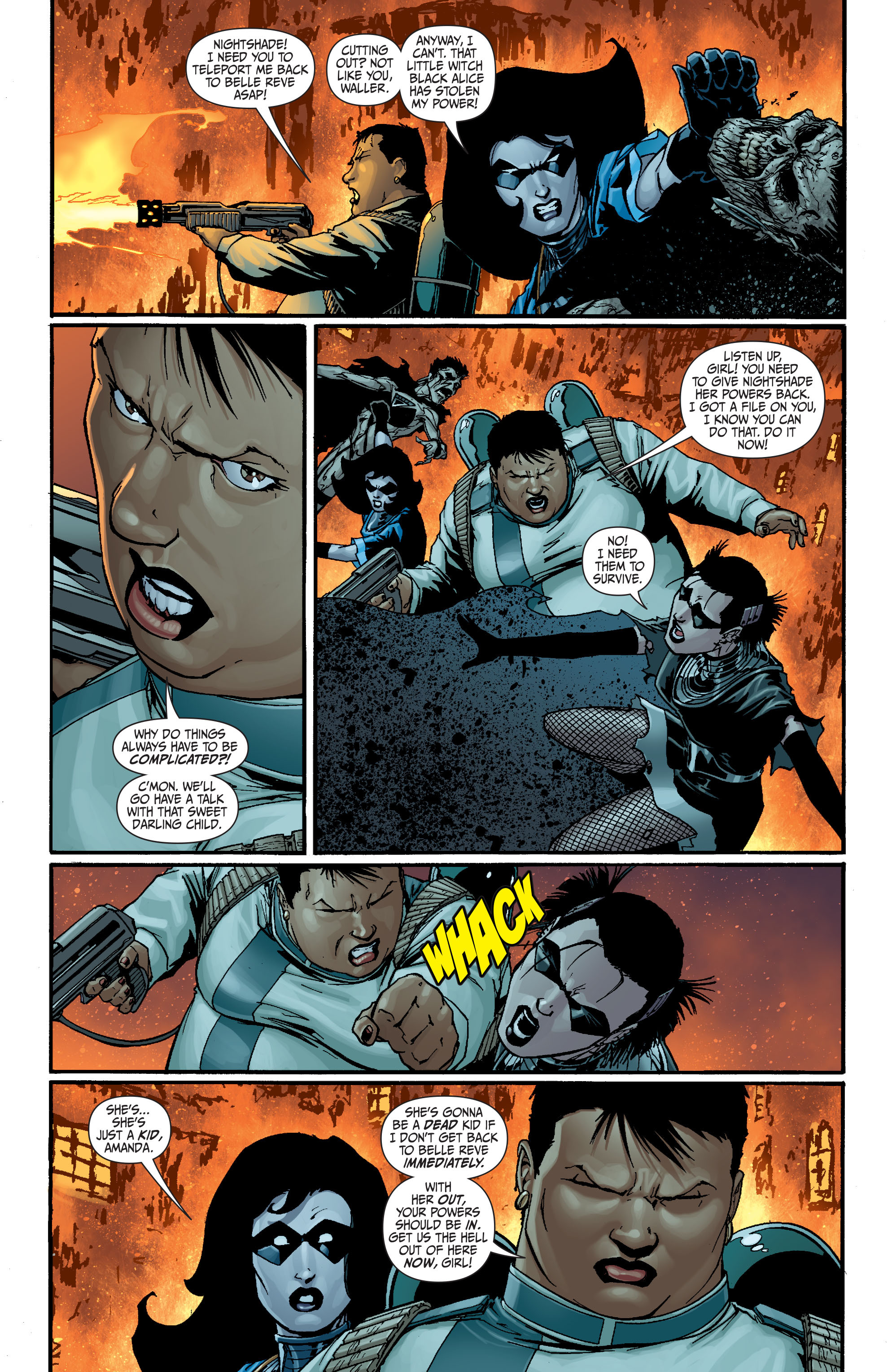 Read online Secret Six (2008) comic -  Issue #18 - 14
