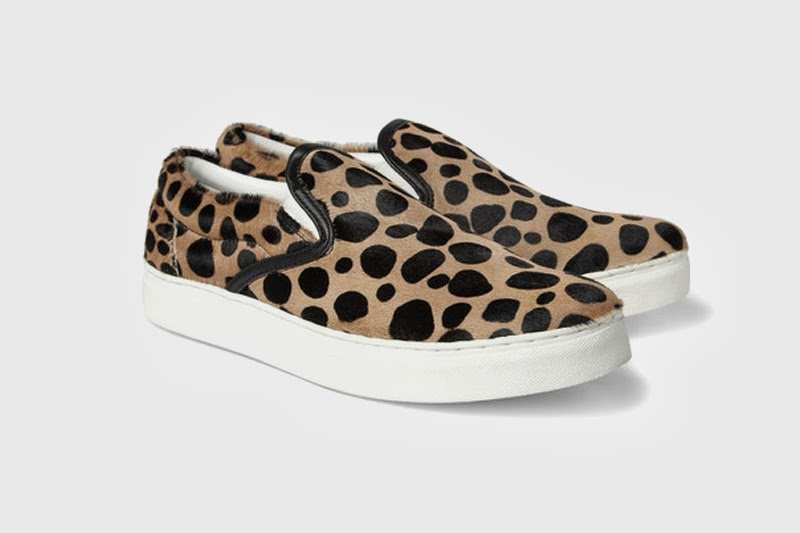 leopard slip on sneakers, trend 2014,