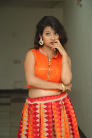 Shubhangi Bant in Orange Lehenga Choli Stunning Beauty ~  Exclusive Celebrities Galleries 065.JPG