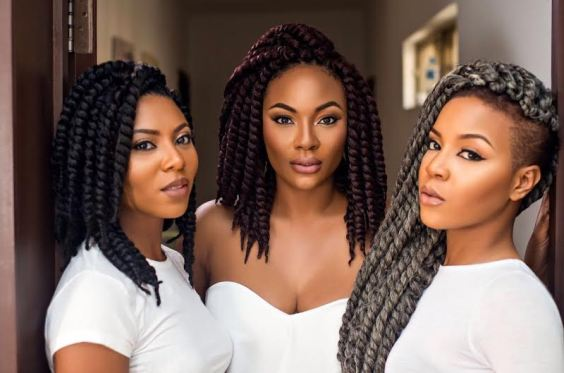 New and exciting way to rock braids; One-hair Two styles KrochetKulture by Stephanie Coker (See Photos)