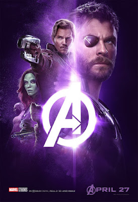 Avengers: Infinity War Infinity Stones One Sheet Character Movie Poster Set