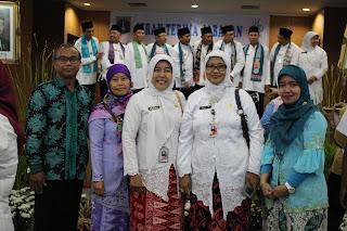Sertijab Kepala SMAN 110 di Sudin Pendidikan JU2