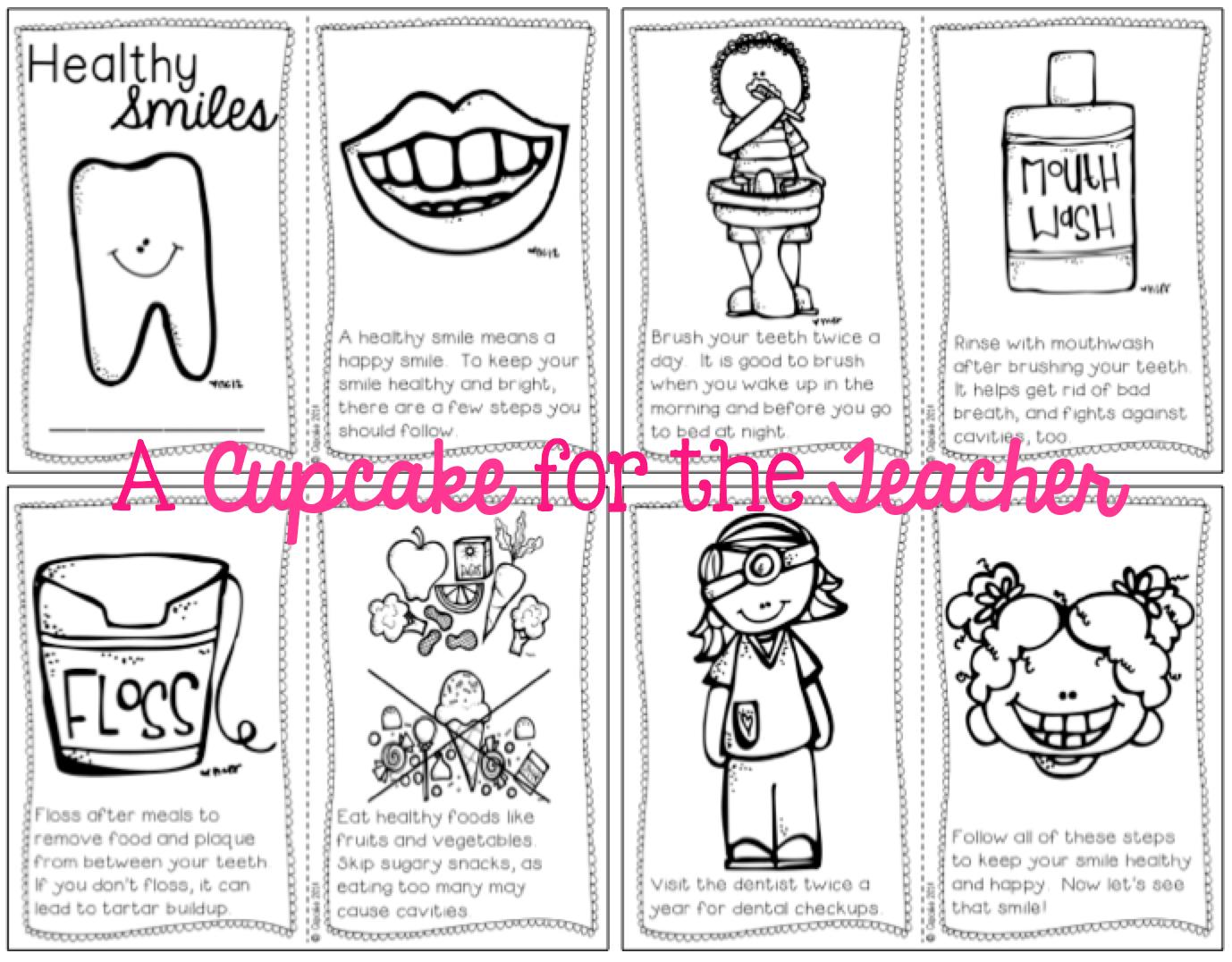 Healthy Teacher Freebie