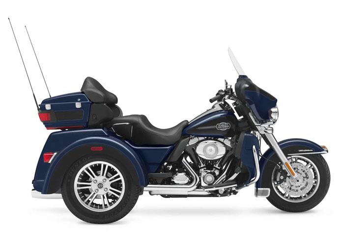 2013 Harley Davidson Flhtcutg Tri Glide Ultra Classic Review: New Motorcycles: 2012 Harley-Davidson FLHTCUTG Tri Glide
