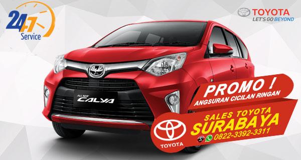 Promo Angsuran Cicilan Ringan Toyota Calya Surabaya