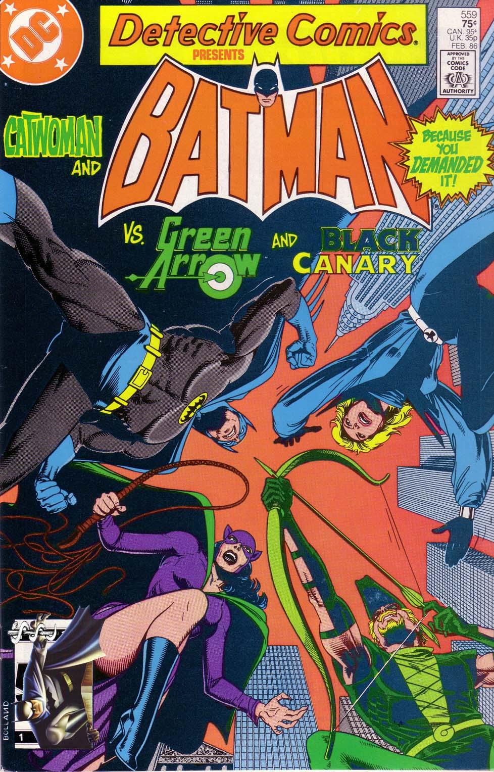Detective Comics (1937) 559 Page 0
