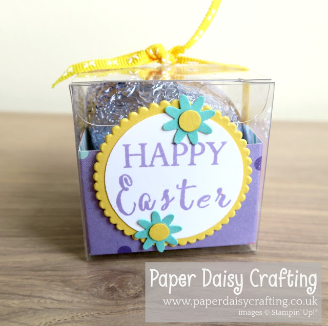 Happy Easter Egg treat box Stampin' Up!