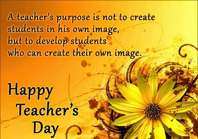 Teacher's Day Quotes