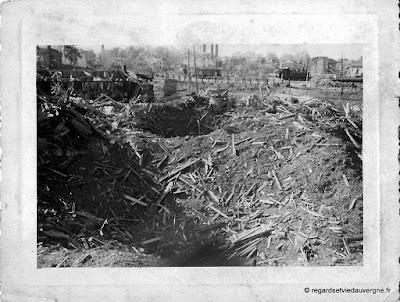 Bombardements Aérodrome d'Aulnat 1944