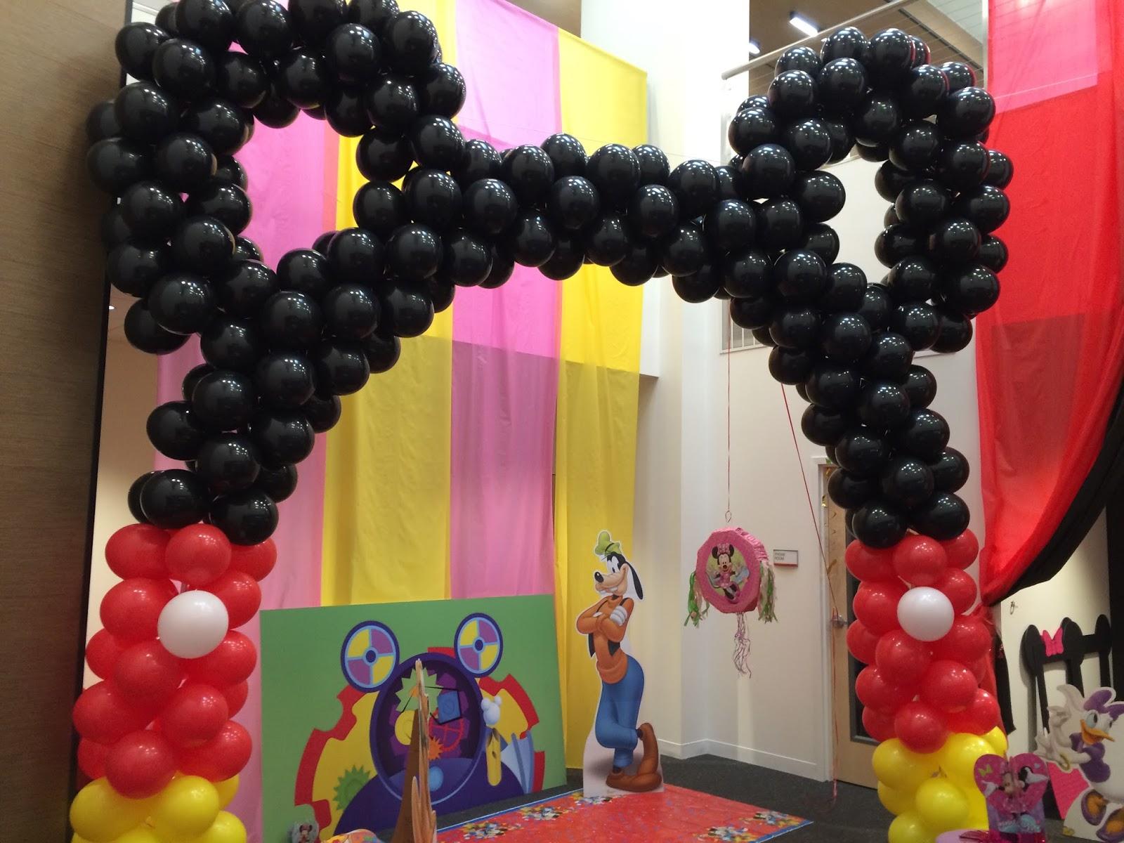 Arco De Bal 245 Es Festa Do Mickey Guia Tudo Festa Blog