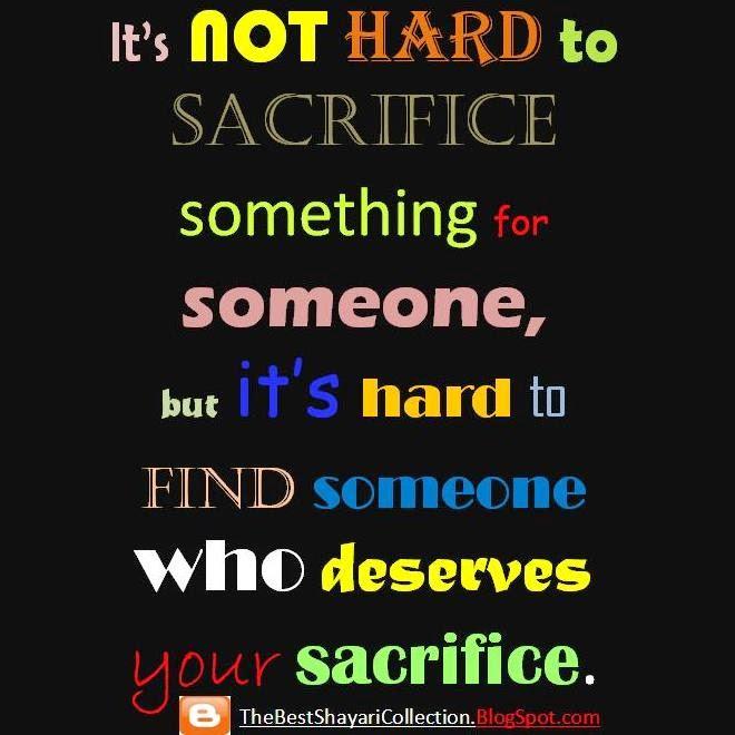 Sacrifice Status