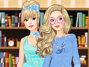 Cinderella is all grown up now, and today she is going to college for the first time. She's really excited, since the whole Disney world is far away now. In our exciting new Capy.com dress up game called Cinderella College Girl, you will have the really important task of helping her choose the most amazing outfit.