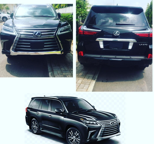 tonto dikeh N36million lexus lx