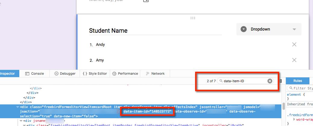 Google Script - Create a Drop-Down List from Spreadsheet Column