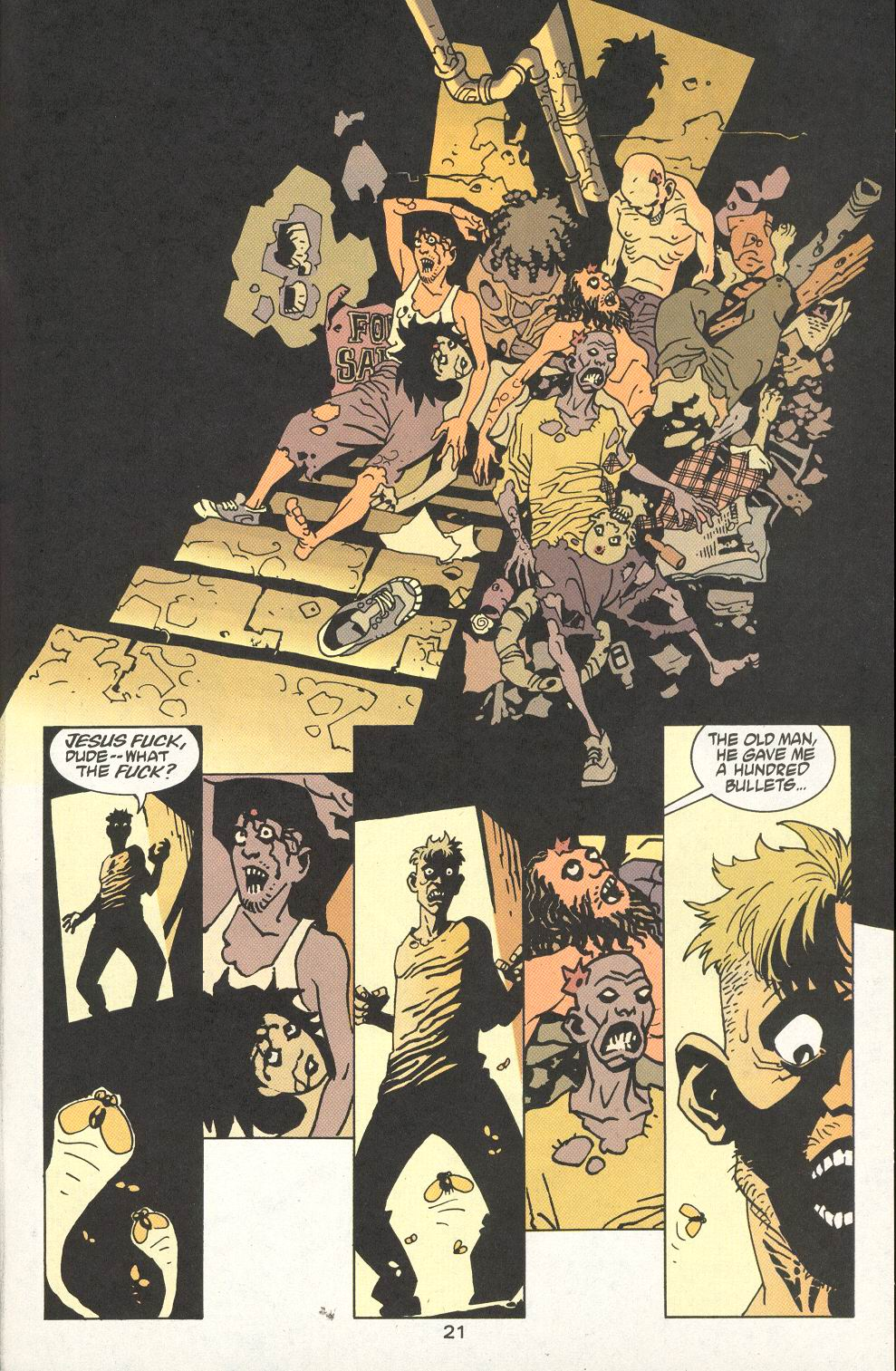 Read online 100 Bullets comic -  Issue #22 - 22