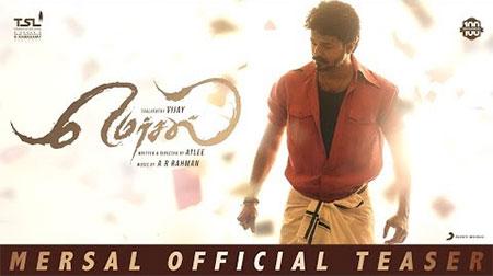 Mersal – Official Tamil Teaser | Vijay | A R Rahman | Atlee