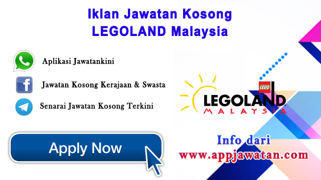 Jawatan Kosong di LEGOLAND Malaysia