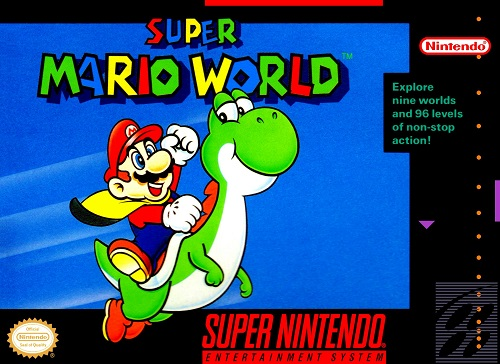 Super Mario World - SNES - Portada